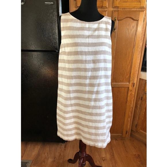 1a8fceb4ab beach lunch lounge Dresses   Skirts - Linen Blend Shift Dress by Beach  Lunch Lounge